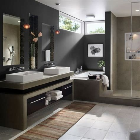 dark bathroom colors 17 best ideas about modern bathroom design on pinterest