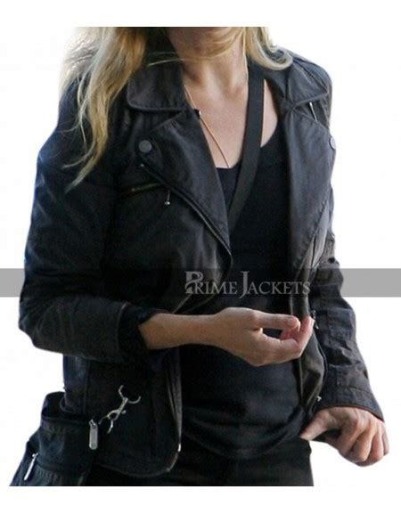jennifer jason leigh sons of anarchy camren bicondova selina kyle gotham biker leather jacket