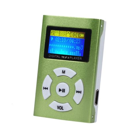 Lifier Usb Sd Card Player usb mini mp3 player lcd screen support 32gb micro sd tf