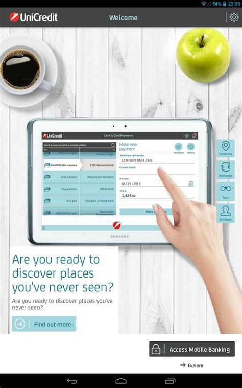 unicreditbanca mobile unicredit mobile application android apps on play