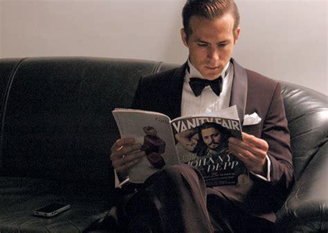 Vanity Fair Reading by Burst In Style The Glorious Vanity Fair Issue 2011
