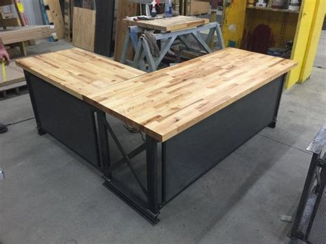 industrial desk l the industrial l shape carruca office desk large