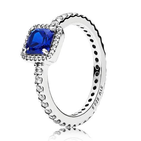 pandora blue timeless elegance ring 190947nbt pandora