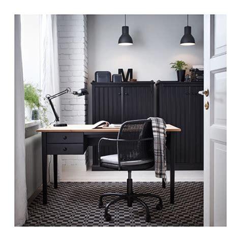 Gregor Swivel Chair Black Svanby Grey Ikea Gregor Swivel Chair