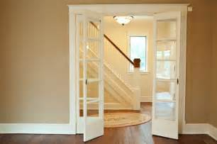 French Doors Inside - awesome retractable doors interior nice home decorating ideas