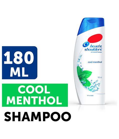 Shoulder So Cool Menthol 330 Ml shoulder cool menthol hair shoo 170 ml buy shoulder cool menthol hair