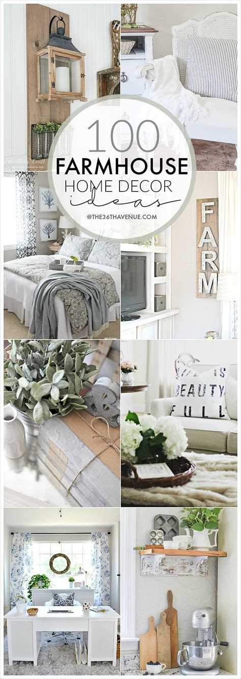 ideas for home decor 100 diy farmhouse home decor ideas the 36th avenue