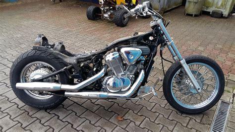 honda vt umgebautes motorrad honda vt 600 c shadow altzschner