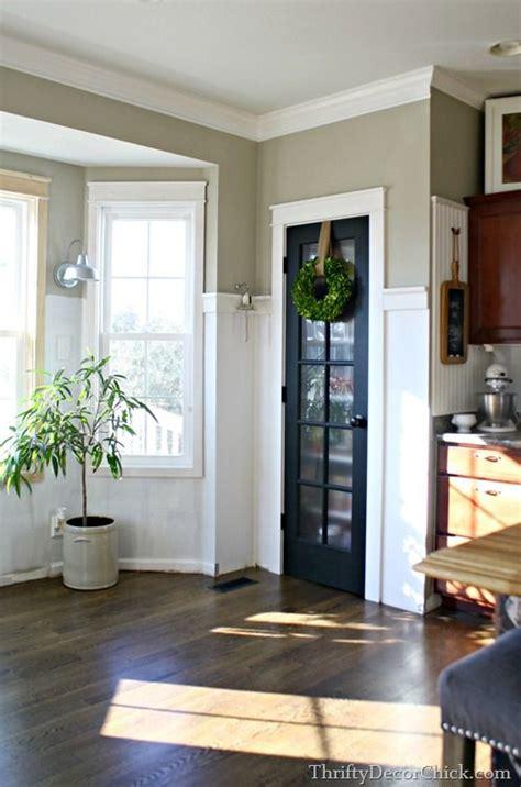 adding white board  batten   black pantry door