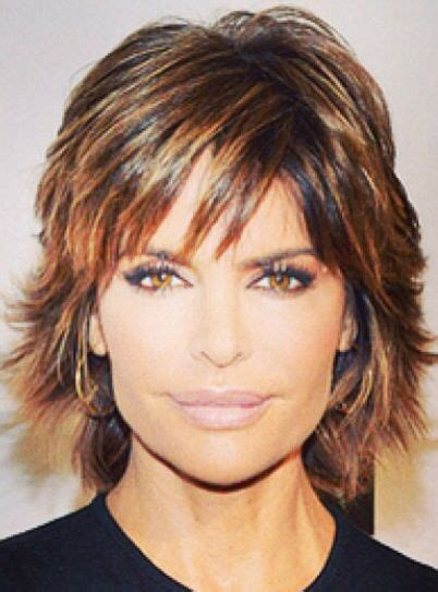 is lisa rinnas hair thick lisa rinna i love her hair shorter or longer and she has