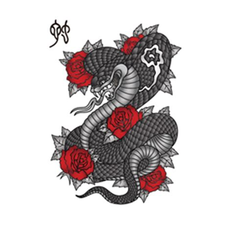 snake rose tattoo designs 36 snake tattoos collection