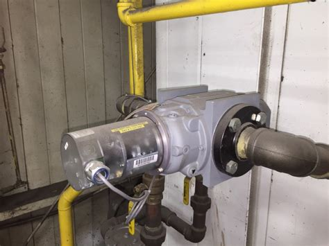sub metering gas in a factory environment
