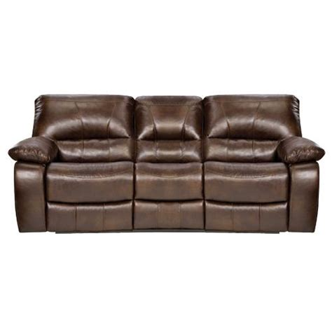 Simmons Reclining Loveseat by Simmons Bm610p Lexus Power Reclining Sofa Chocolate 1 8