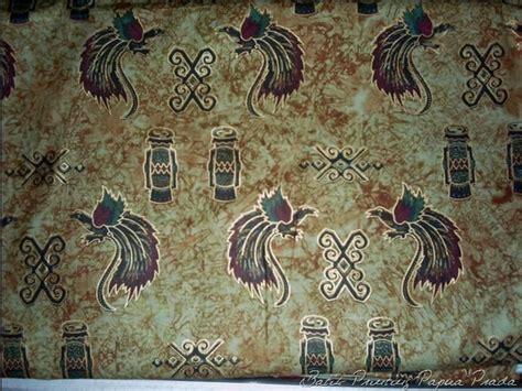 Baju Batik Paradise papua batik motif bird of paradise