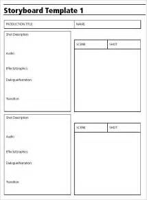 storyboard template free audio storyboard template 7 free word excel