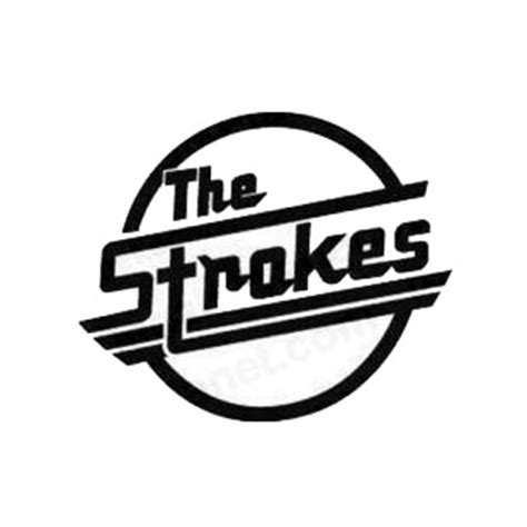 Sticker Band The Strokes The Strokes Band And Bands Decals Decal