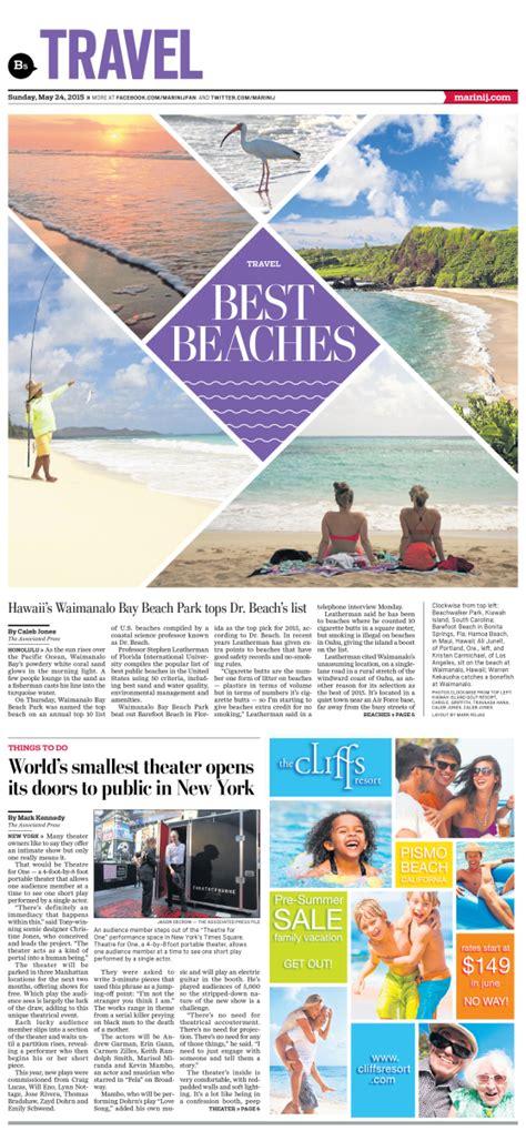 news section design travel best beaches 2015 newspagedesigner