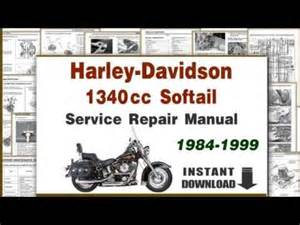harley davidson softail heritage service manual repair