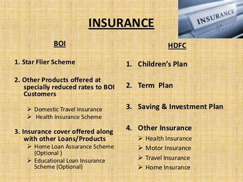 boi house insurance boi and hdfc