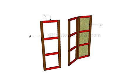 how to build a room divider how to build a room divider howtospecialist how to build step by step diy plans