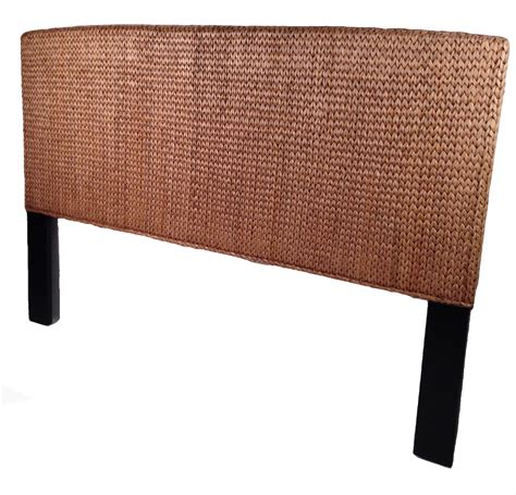 wicker headboard seagrass king headboard miramar