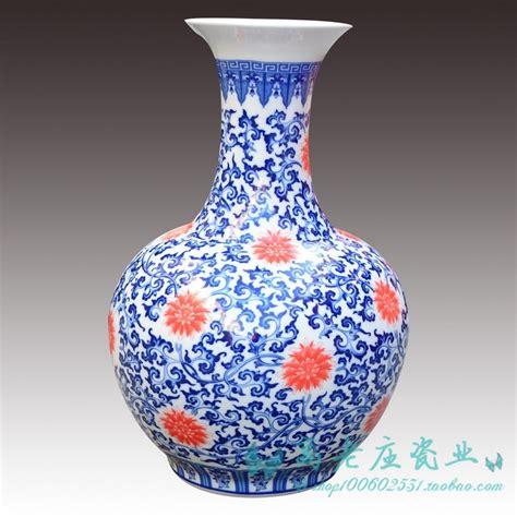 jingdezhen ceramic large floor vase blue and white ceramic