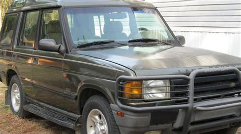 how petrol cars work 1997 land rover discovery parking system buy used 1997 land rover discovery se7 sport utility has a thrown rod out oil pan in rockingham