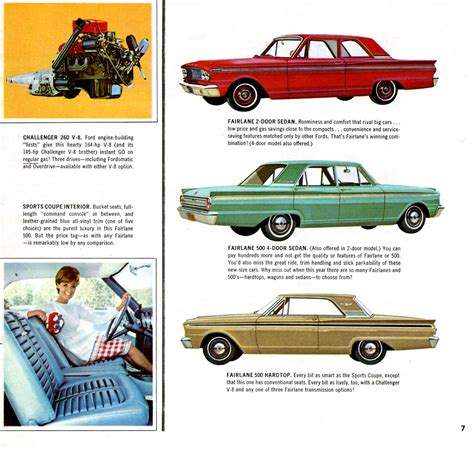ford brochures cars