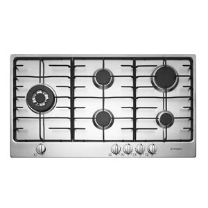 westinghouse 90cm gas cooktop westinghouse 90cm stainless steel gas cooktop ghr95s