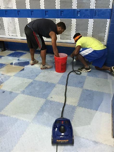 Hardwood Floors Between Awnings And AstroTurf Removing