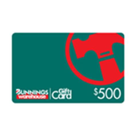 Bunnings Gift Card Coles - choose your voucher