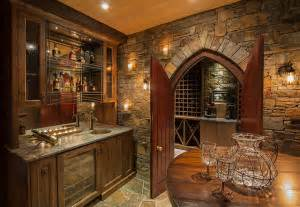 Timber Home Bar Riverside Timber Frame Eclectic Home Bar Calgary