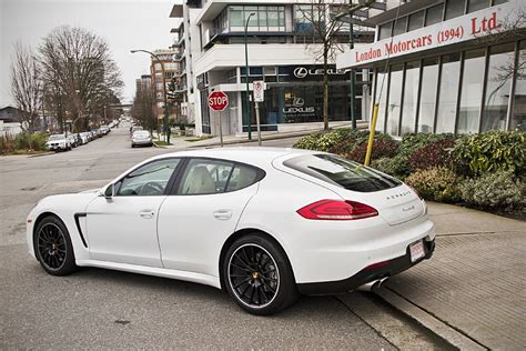 porsche sedan white porsche 2014 panamera 4s 4 door awd sedan london motorcars