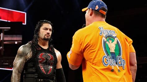 pwpix news backstage stories photos john cena wrestler backstage news on if john cena and roman reigns went off
