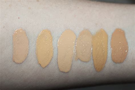 Nyx Total Drop Foundation nyx total drop foundation review swatches all