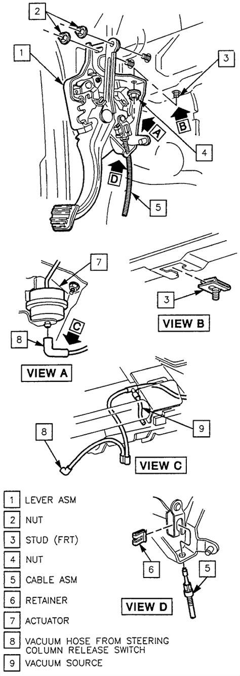 automotive service manuals 1998 cadillac eldorado parking system service manual how to repair 1998 cadillac eldorado emergency pedal cable repair guides
