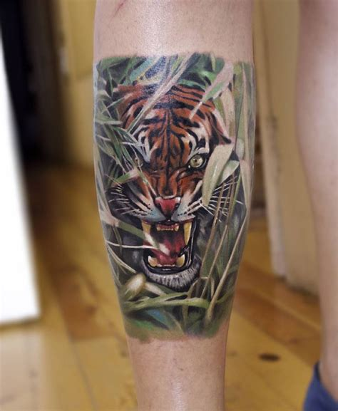 realistic tiger tattoo 93 best tiger ideas images on
