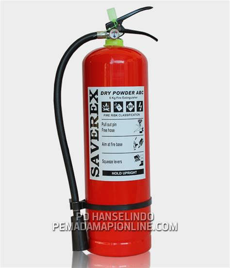 Tabung Pemadam Kebakaran 6 Kg jual tabung pemadam api cap 6 kg