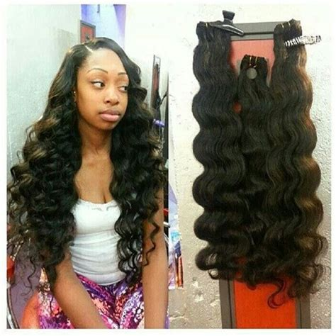 show pic of body wave wwave hair style full curly sew in no leave out newhairstylesformen2014 com