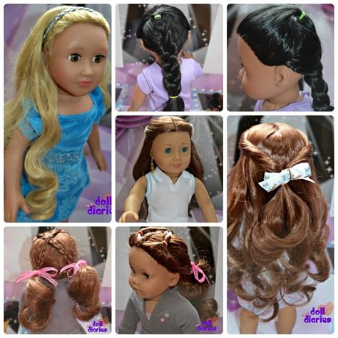hairstyles for our generation dolls 1000 images about american girl hair style on pinterest