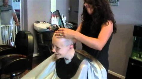 women forced head shave clippers abi s head shave youtube