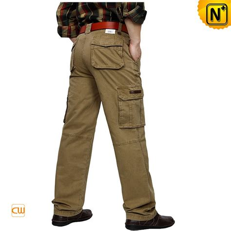 Mens Buffalo Outdoor Pant 78 Sz 34 100 Original designer hiking cargo for cw140406