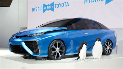 Hydrogen Toyota Hydrogen Cars Toyota Gets In On The