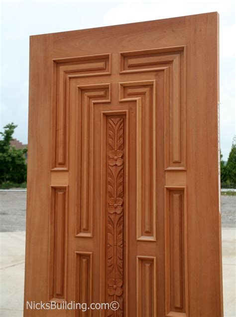 Wood For Exterior Doors Home Entrance Door Wood Front Door