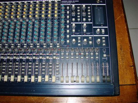 Mixer Behringer Mx3282a behringer eurodesk mixer mx3282a 32 channel mixing console with power supply reverb