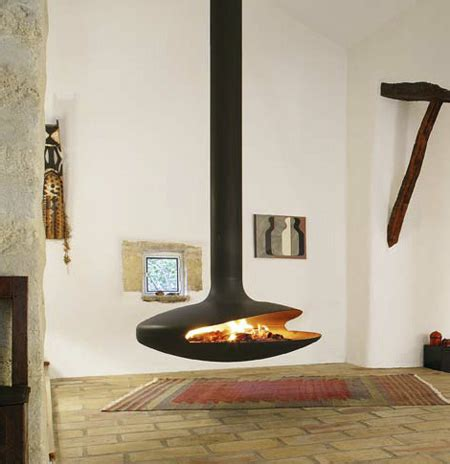 cool and stylish fireplace designs