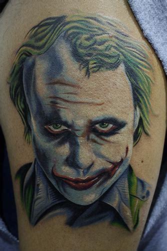 tattoo the joker heath ledger the joker by daniel chashoudian tattoonow
