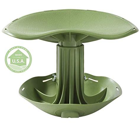 nrs garden stool on wheels garden rocker gardening seat metal detector