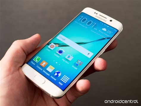 Samsung S6 Edge samsung galaxy s6 and s6 edge on preview android
