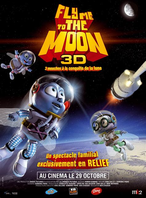 Fly Me fly me to the moon 2008 poster freemovieposters net